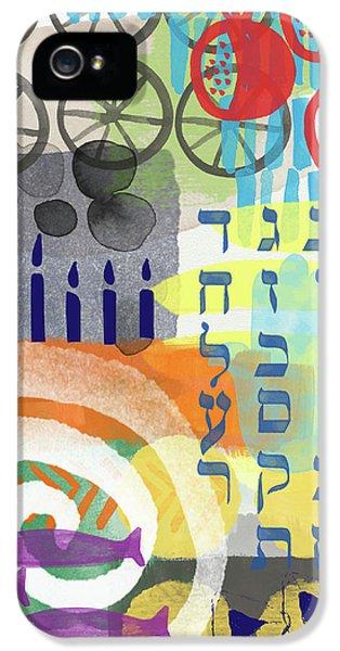Jewish Life 1- Art By Linda Woods IPhone 5 Case