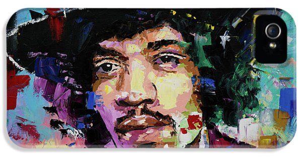 Jimi Hendrix Portrait II IPhone 5 Case
