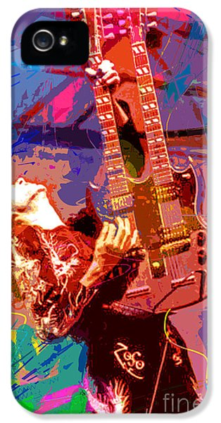 Jimmy Page Stairway To Heaven IPhone 5 / 5s Case by David Lloyd Glover