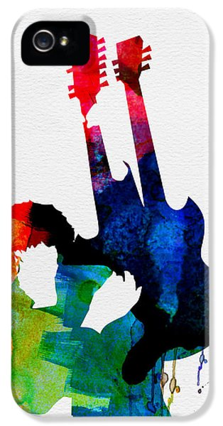 Jimmy Watercolor IPhone 5 Case by Naxart Studio