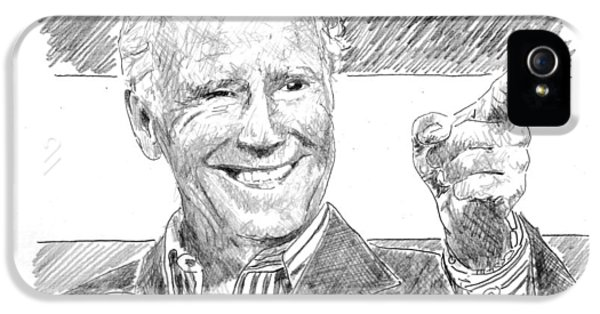 Joe Biden IPhone 5 Case by Shawn Vincelette