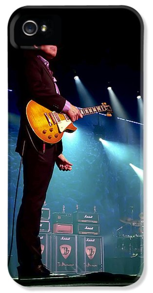 Drum iPhone 5 Case - Joe Bonamassa 2 by Peter Chilelli