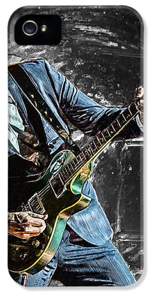Joe Bonamassa IPhone 5 / 5s Case by Taylan Apukovska