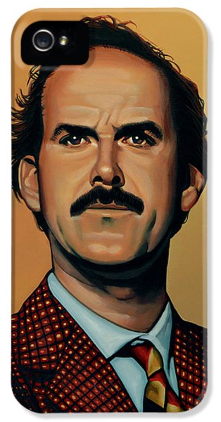 John Cleese IPhone 5 Case by Paul Meijering
