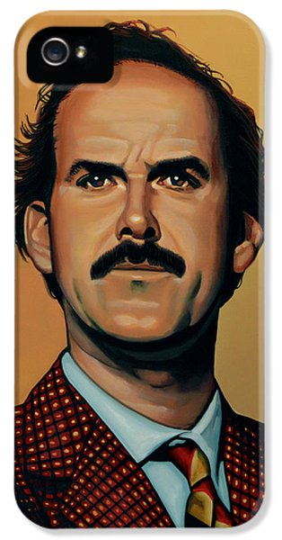 Portraits iPhone 5 Case - John Cleese by Paul Meijering
