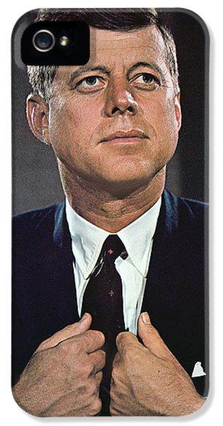 John F Kennedy IPhone 5 Case