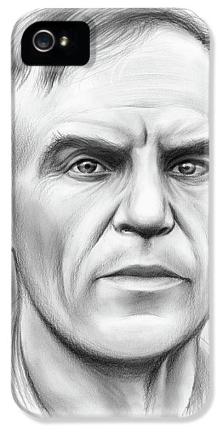 John Heisman IPhone 5 Case by Greg Joens