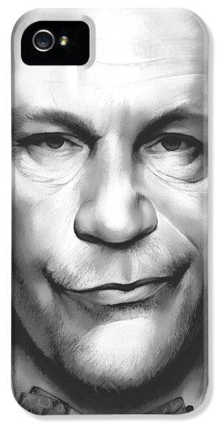 Mouse iPhone 5 Case - John Malkovich by Greg Joens