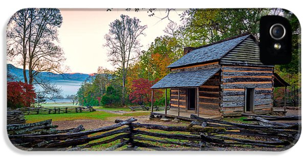 John Oliver Place In Cades Cove IPhone 5 Case