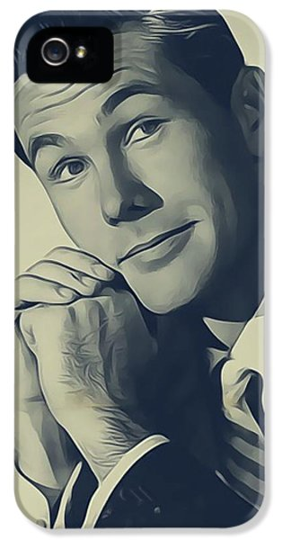 Johnny Carson iPhone 5 Case - Johnny Carson, Vintage Entertainer by John Springfield