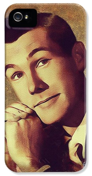 Johnny Carson iPhone 5 Case - Johnny Carson, Vintage Entertainer by Mary Bassett