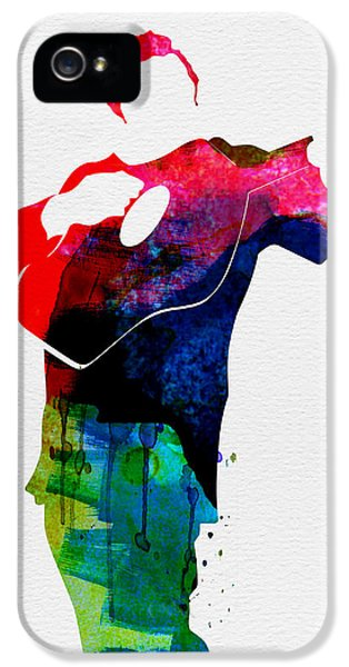 Johnny Watercolor IPhone 5 Case by Naxart Studio