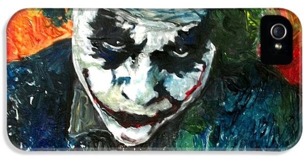 Joker - Heath Ledger IPhone 5 Case