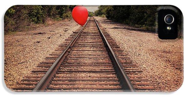 Train iPhone 5 Case - Journey by Tom Mc Nemar