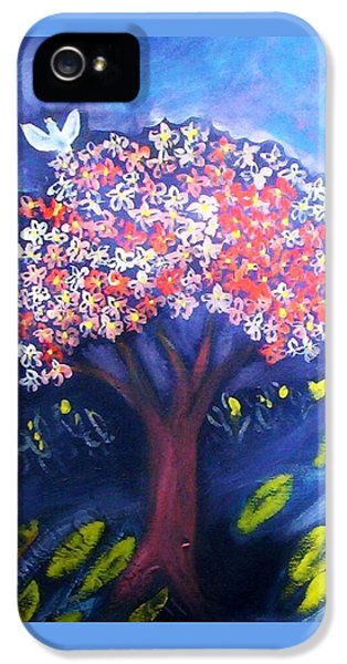 IPhone 5 Case featuring the painting Joy by Winsome Gunning