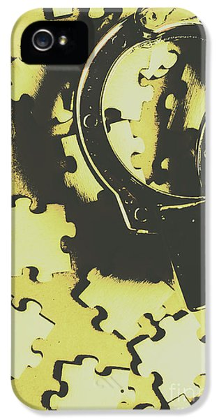 Judicial Jigsaw IPhone 5 Case by Jorgo Photography - Wall Art Gallery