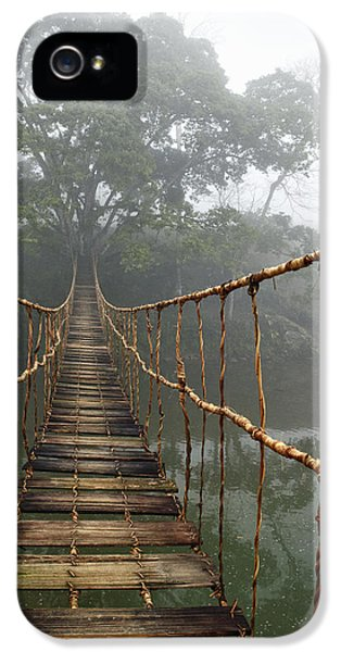Inspirational iPhone 5 Case - Jungle Journey 2 by Skip Nall