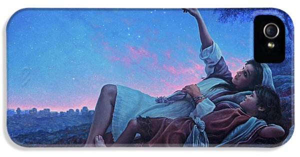 Just For A Moment IPhone 5 Case by Greg Olsen