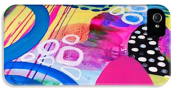iPhone 5 Case - Just Playin Around With Paints Today by Robin Mead