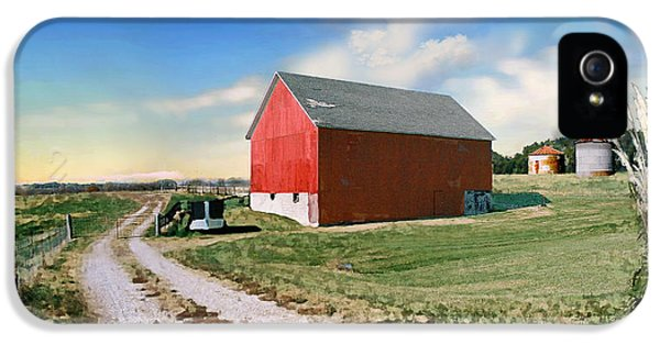 Kansas Landscape II IPhone 5 / 5s Case by Steve Karol