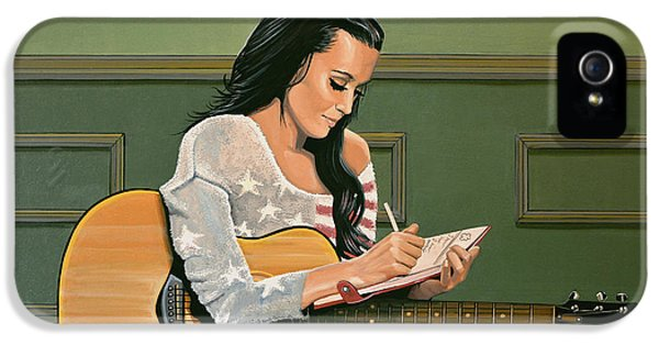 Katy Perry Painting IPhone 5 Case