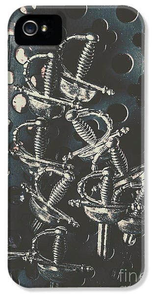 Knight iPhone 5 Case - Keep Of A Royal Armoury by Jorgo Photography - Wall Art Gallery
