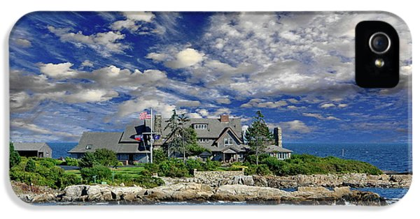 Kennebunkport, Maine - Walker's Point IPhone 5 / 5s Case by Russ Harris