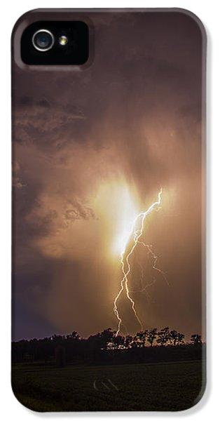 Nebraskasc iPhone 5 Case - Kewl Nebraska Cg Lightning And Krawlers 014 by NebraskaSC