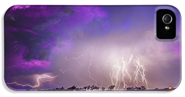 Nebraskasc iPhone 5 Case - Kewl Nebraska Cg Lightning And Krawlers 038 by NebraskaSC