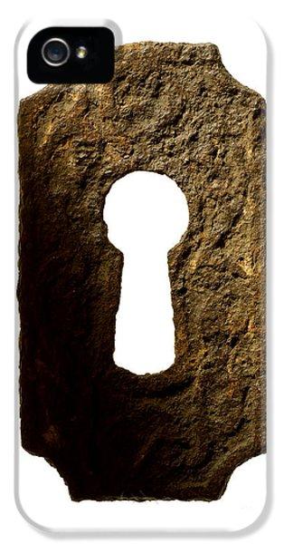 Key Hole IPhone 5 Case by Tony Cordoza