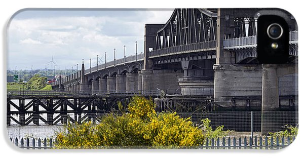 IPhone 5 Case featuring the photograph Kincardine Bridge by Jeremy Lavender Photography