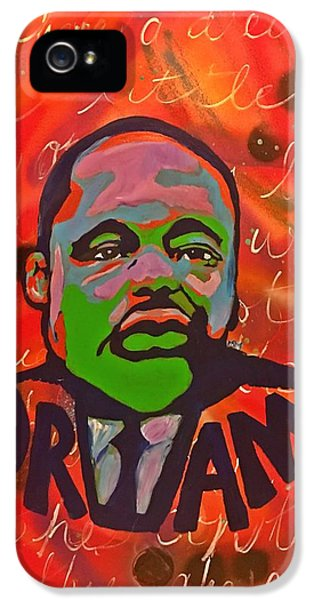 King Dreaming IPhone 5 Case by Miriam Moran