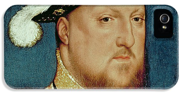 King Henry Viii IPhone 5 Case by Hans Holbein the Younger