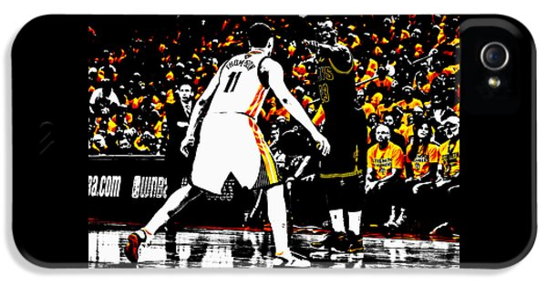 King James Directing Traffic IPhone 5 Case by Brian Reaves