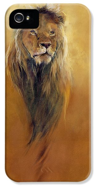 King Leo IPhone 5 Case by Odile Kidd
