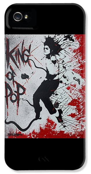 King Of Pop IPhone 5 Case