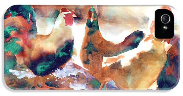King Of The Roost IPhone 5 Case by Kathy Braud