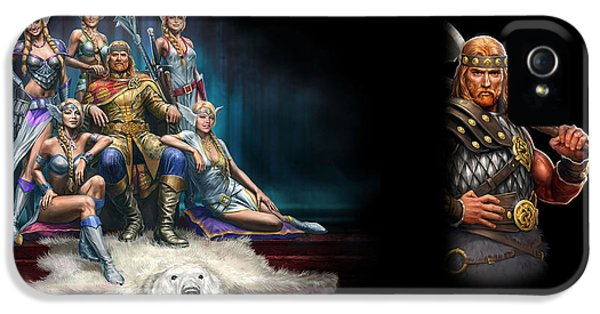 Design iPhone 5 Case - King's Bounty Warriors Of The North by Maye Loeser