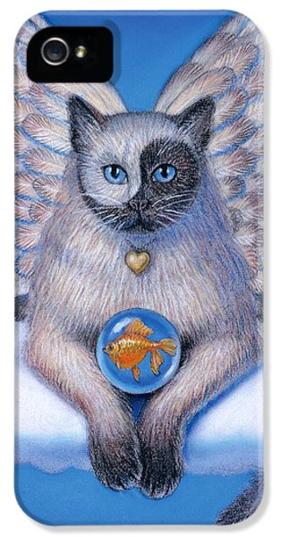 Kitty Yin Yang- Cat Angel IPhone 5 Case