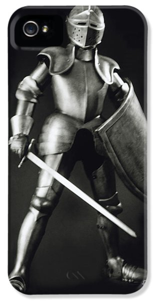 Knight iPhone 5 Case - Knight by Tony Cordoza