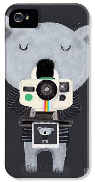 Koala iPhone 5 Case - Koala Cam by Bleu Bri