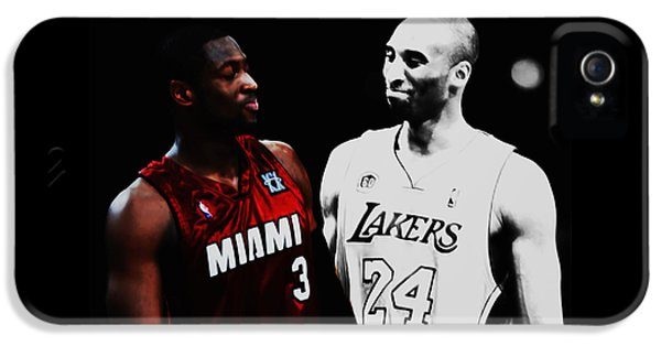 Two Masters Of The Game Kobe Bryant And Dwyane Wade IPhone 5 Case