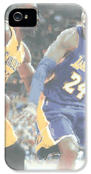 Kobe Bryant Lebron James 2 IPhone 5 Case
