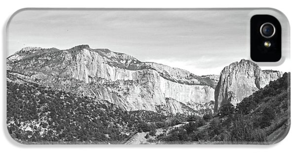 Kolob Canyon, Zion National Park No. 10-1 IPhone 5 Case by Sandy Taylor