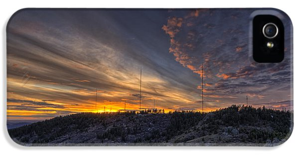 Krell Hill Sunset IPhone 5 Case by Mark Kiver