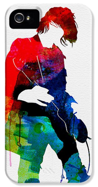 Kurt Watercolor IPhone 5 Case