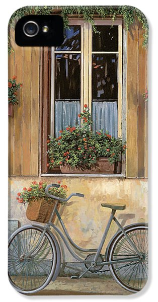 Bicycle iPhone 5 Case - La Bici by Guido Borelli