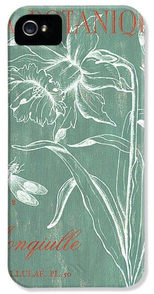 La Botanique Aqua IPhone 5 Case by Debbie DeWitt