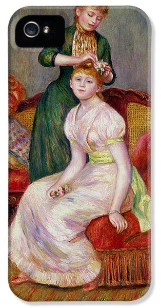 La Coiffure IPhone 5 Case by Renoir