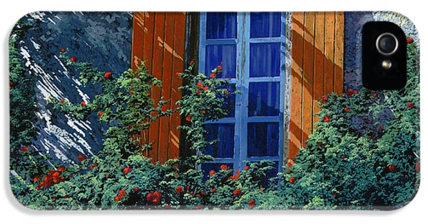 La Finestra E Le Ombre IPhone 5 / 5s Case by Guido Borelli